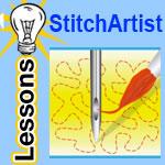 stitch artist lessons