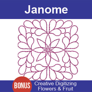 Janome Digitizing Lesson