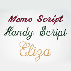 Font Pack 1 – Script