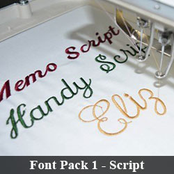 Font Pack 1 - Script
