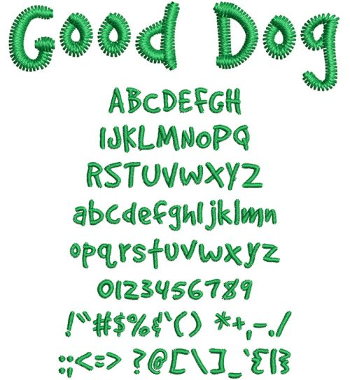 Good Dog Font