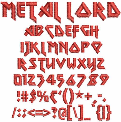 Metal Lord Font