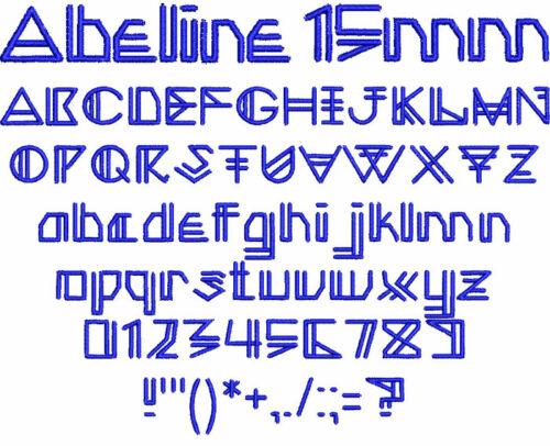 Abeline 15mm Font