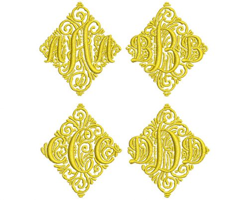 Adorn Trio monogram icon