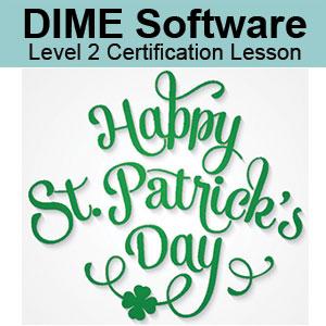 DIME Software Digitizing Certification