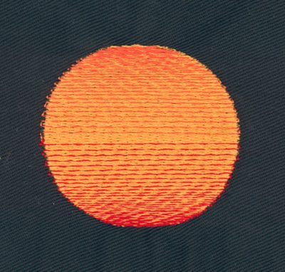 Embroidery Color Blending Example 8