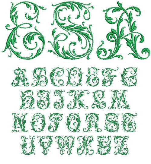 Initial Mono 50mm Font