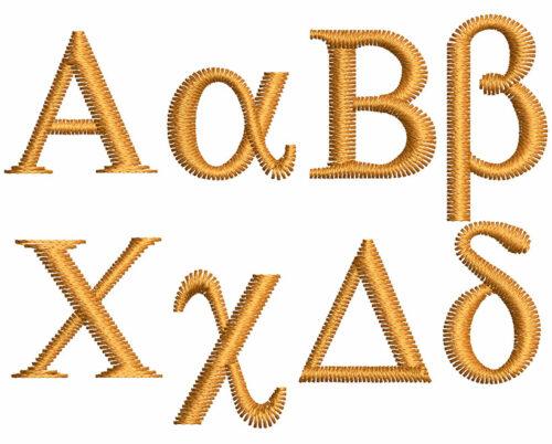 Greek esa font letters icon