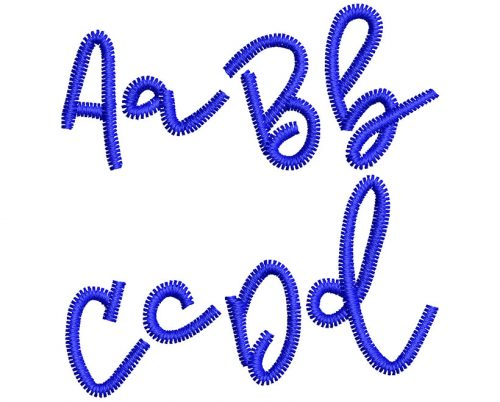 Air Woo esa font letters icon