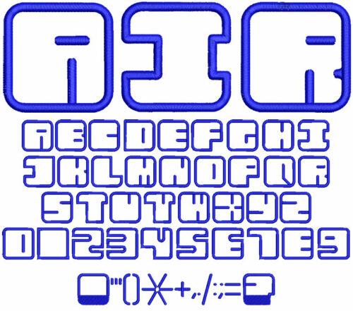 Air Applique 50mm Font