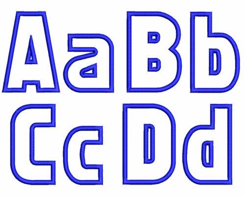 Fatso esa font letters icon