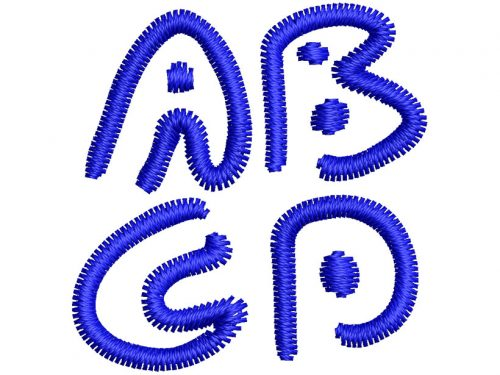 Almost Outlines esa font letters icon