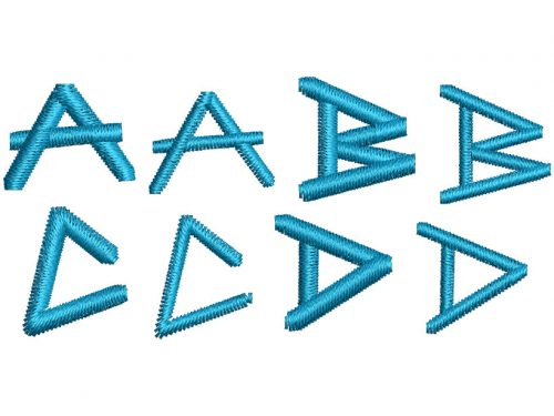 Angular Anarchy esa font letters icon