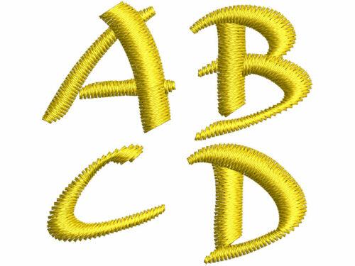 Archaic Asian esa font letters icon