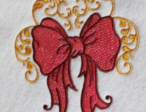 How to Embroider Mylar Designs: Tutorial