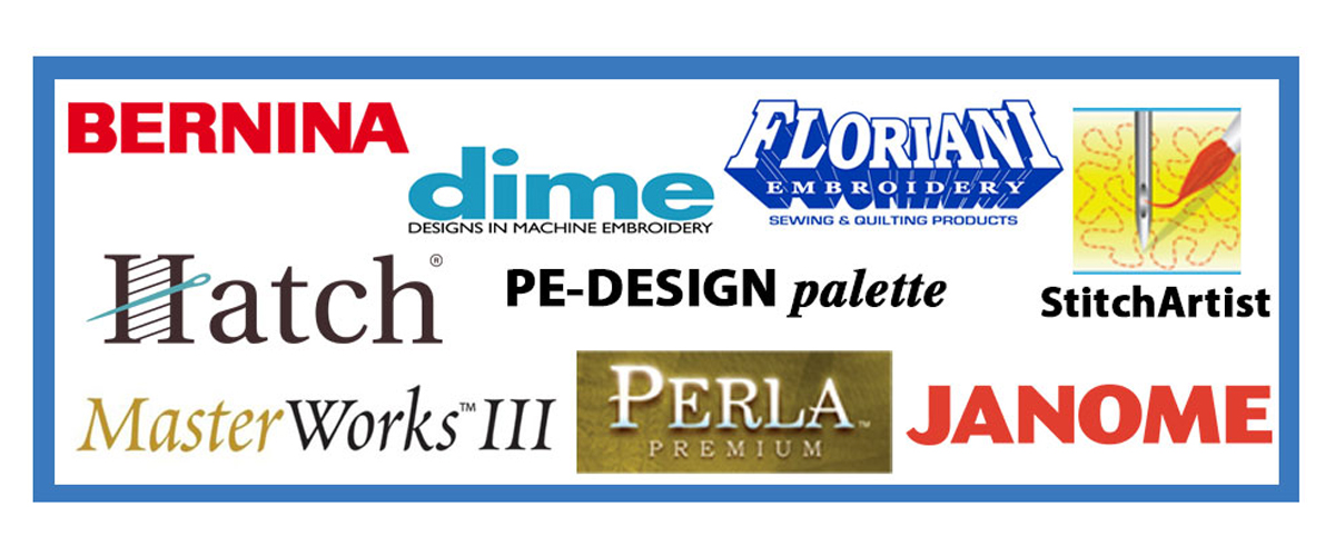 Embroidery Software Brands