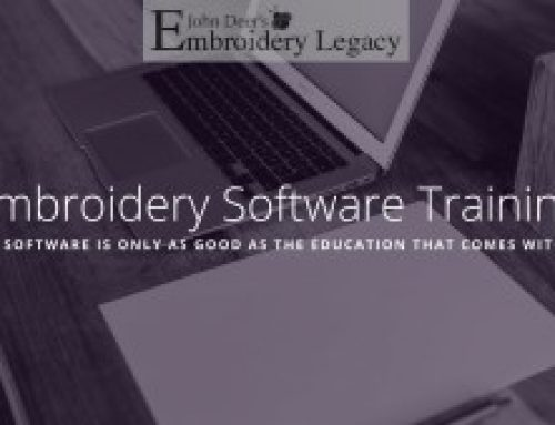 Machine Embroidery Software Training