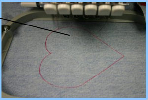 reverse applique step by step