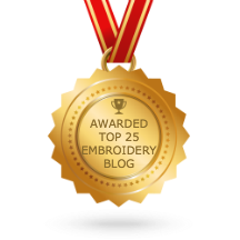 Embroidery Blog awarded
