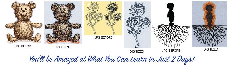 Embroidery Digitizing workshops in california