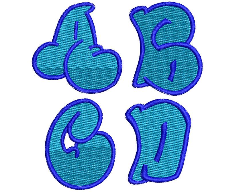 Graffiti 2 Color 30mm Font