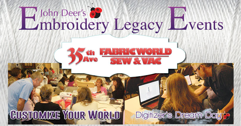 embroidery legacy events