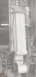 jacquard paper tape vintage