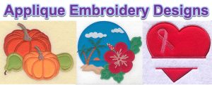 applique embroidery designs