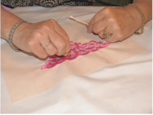 organza embroidery project tutorial