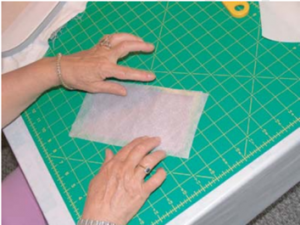 sticking organza for embroidery