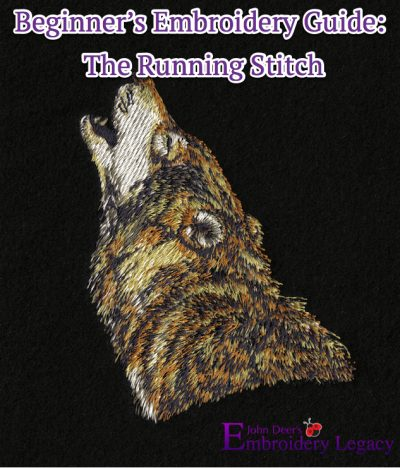 The Running Stitch | Beginner's Machine Embroidery Guide