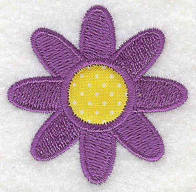 Embroidery Design: Flower 1.92w X 1.92h