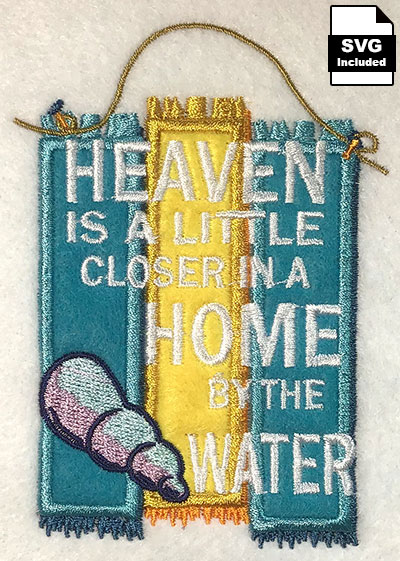 closer to home embroidery design